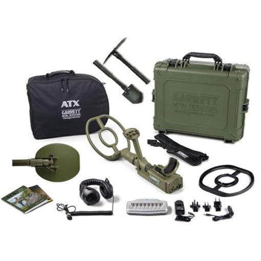 Detector de metales Garrett ATX Deepseeker Package con Pala