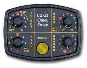 Caja de control del detector de metales Fisher CZ-21 Quicksilver