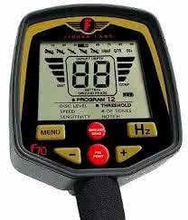 Caja de control del detector de metales Fisher F70