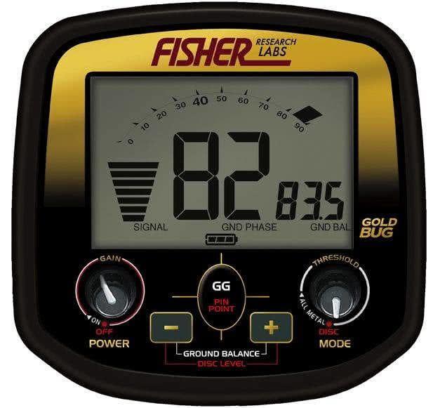 Detector de metales Fishe Gold Bug Pro