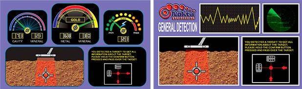 Interface detector de metales Nokta Golden King