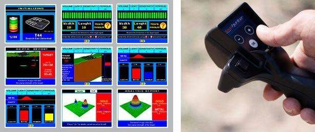 Imagen cuadro de control detector de metales makro Deephunter