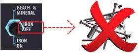 Discriminación Hierro detector de metales makro Deephunter