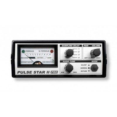 Detector de metales Pulse Star II con plato de Ø45cm