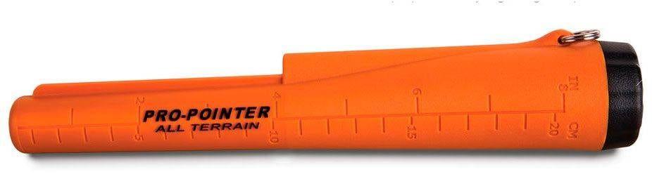 Medidor de profundidad en la carcasa del detector Garrett Pro Pointer AT
