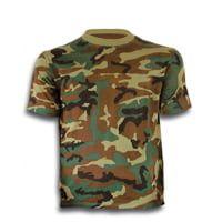 Camiseta M/Corta Camo Verde