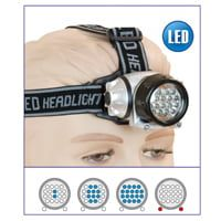 Linterna Frontal LED 18+2