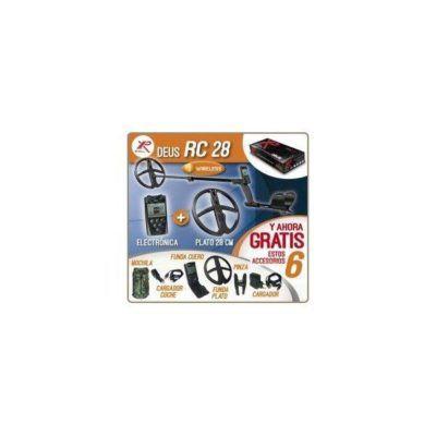 Detector de metales XP DEUS RC 28 con Electrónica