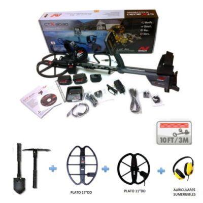 Detector de Metales Minelab CTX-3030 Playa Pack
