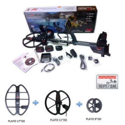 Detector de Metales Minelab CTX-3030 Pro Pack