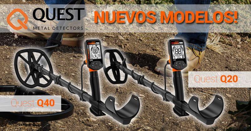 Descubre los nuevos detectores Quest Q20 & Q40 (Deteknix)