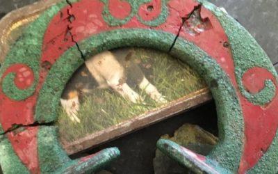 Descubre el primer carro celta funerario de Gales con un detector de metales