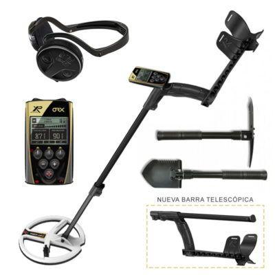Detector de metales XP ORX 22 WS Inalambrico con Pala
