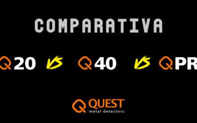 Comparativa Quest – Q20, Q40 & Q PRO