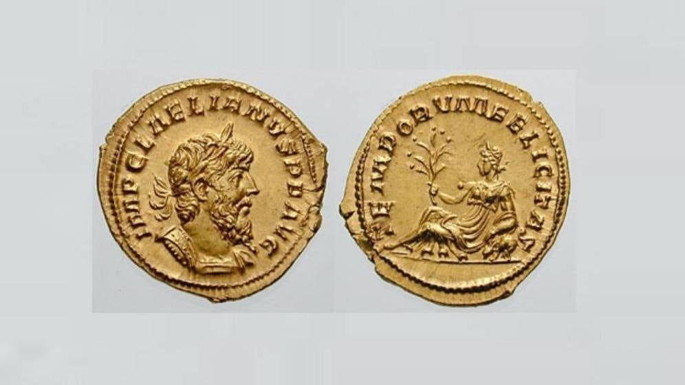 Encontrada una de las monedas más extrañas del Imperio Romano