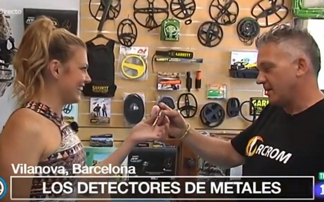 Orcrom Detectores en el programa España Directo