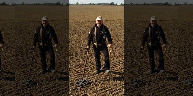 Un aficionado a la detección de metales encuentra un tesoro de monedas de plata